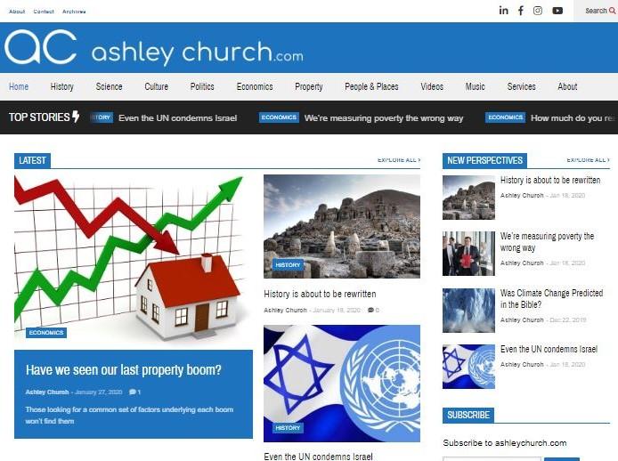 ashleychurch.com – a new approach to old ideas